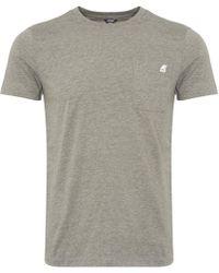 K-Way - Elias Pocket T-shirt - Lyst