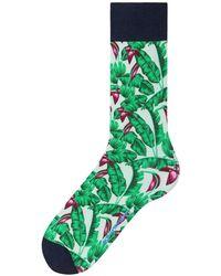 Burlington - Hawaii Print Fashion Socks - Lyst