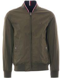 Tommy Hilfiger Reversible Bomber Jacket - Multicolor