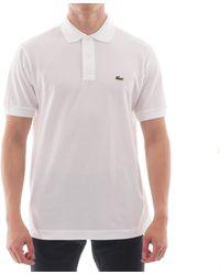 Lacoste Classic Pique Polo Shirt - White