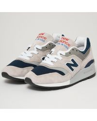 New Balance - 997 Made In Us - Grey - Lyst