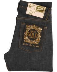 Naked & Famous Naked And Famous Easy Guy Real Gold Selvedge - Blue