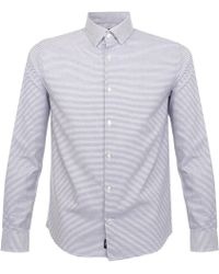 Matíníque - Trostol Striped Blue Shirt - Lyst