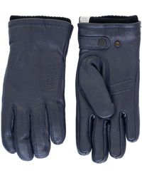 Norse Projects - Norse X Hestra Utsjo Dark Navy Gloves - Lyst