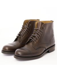 Cheaney Jarrow Derby Boot - Chicago Tan Chromexcel L - Brown