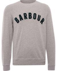Barbour Prep Logo Sweatshirt - Grey