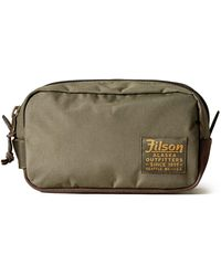 Filson Otter Green Ballistic Nylon Travel Pack 20019936