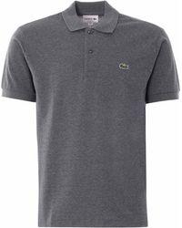 Lacoste Classic Pique Polo Shirt - Grey