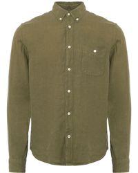 NN07 - Moss New Derek Oxford Shirt - Lyst