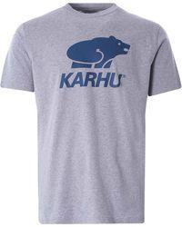 Karhu Basic Logo T-shirt - Blue