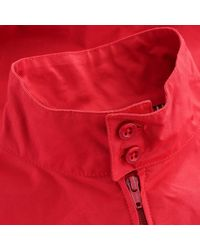 Fred Perry Made In England Harrington Jacket - Red