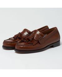 G.H.BASS Layton Ii Moc Kiltie Tassel Loafers - Brown