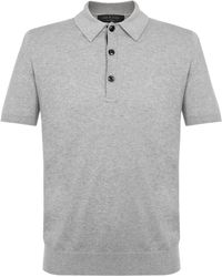 Rag & Bone - Mason Grey Polo Shirt M2726238x - Lyst