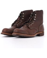 Red Wing 8111 Iron Ranger Boot - Amber - Blue