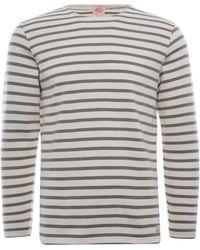 Armor Lux Organic Cotton L/s Mariniere Heritage T-shirt - Multicolour