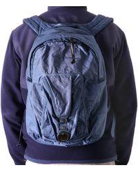 C P Company C.p. Company Lens Pocket Backpack - Blue