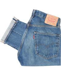 Levi's 1967 505 Slim Straight Jeans - Pressure - Blue