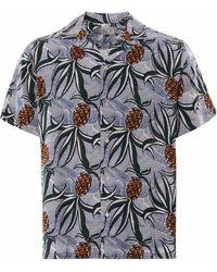 Reyn Spooner Whacky Pineapple Rayon Camp Shirt - Multicolor