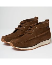 G.H.BASS - Scout Runner Suede Boot - Mid Brown - Lyst