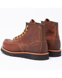 """Red Wing 6"""" Classic Moc Toe Boots - Brown"""