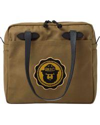 Filson Smokey Bear Tote Bag - Green