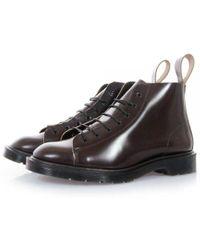 Dr. Martens - Dr Martens Les Merlot Boanil Brush Boots - Lyst
