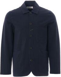 Universal Works Bakers Jacket - Blue