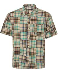 Universal Works - Patchwork Road Shirt - Lyst