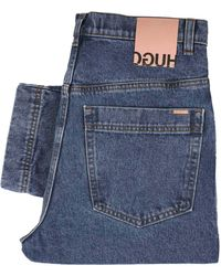 HUGO 843 Relaxed Fit Jeans - Blue