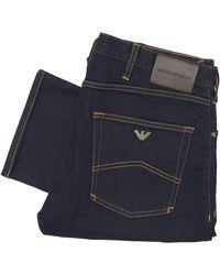 Emporio Armani Denim J45 Slim Jeans 8n1j45 - Blue