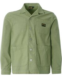 Stan Ray Painters Jacket Cotton Sateen - Green