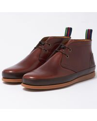 PS by Paul Smith | Dark Brown Cleon Boots | Lyst