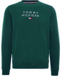 Tommy Hilfiger Th Flex Fleece Sweatshirt - Green