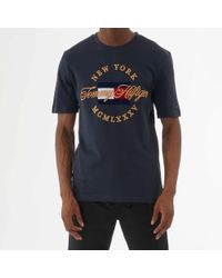 Tommy Hilfiger Icon Relax Fit T-shirt - Blue