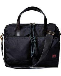 Filson Ballistic Nylon Dryden Briefcase - Blue