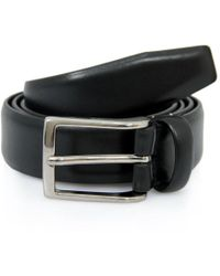 Andersons - Andersons Black Leather Suit Belt A0325 - Lyst