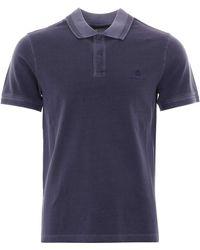 Belstaff Pique Polo Shirt Racing - Blue