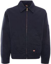 Dickies Lined Eisenhower Jacket - Blue