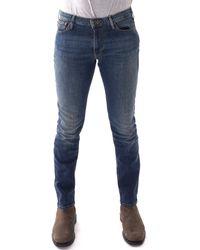 Emporio Armani Emporio J06 Slim Fit Jeans - Blue