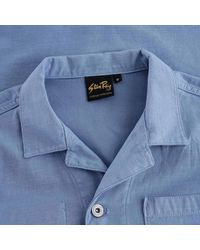 Stan Ray Painters Jacket Cotton Sateen - Blue