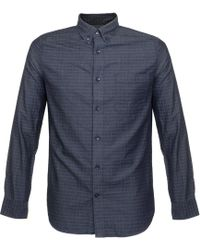 Matíníque - Trostol Check Dark Navy Shirt - Lyst