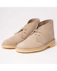 Clarks Desert Boot - Natural