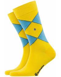 Burlington Burlington Fashion Socks - Yellow