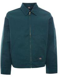 Dickies Lined Eisenhower Jacket - Green