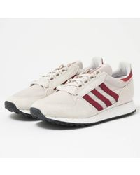 uk availability 3906d 59f69 adidas Originals - Forest Grove - Chalk Pearl, Ftw White  Core Black - Lyst