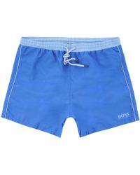 BOSS Starfish Swim Shorts - Bright Blue
