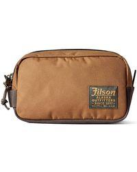 Filson Whiskey Ballistic Nylon Travel Pack 20019936 - Brown