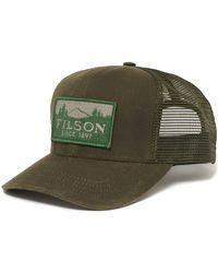 Filson Otter Green Logger Mesh Cap 11030237