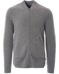 Barbour Gillespie Zip Sweatshirt - Grey Marl