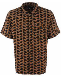 Levi's Pyjama Shirt - Brush Stroke Multi - Multicolour